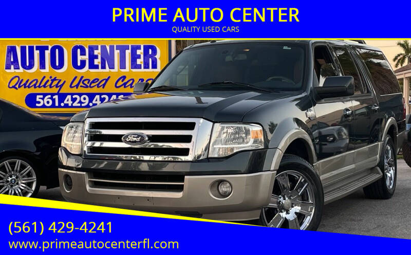 2009 Ford Expedition EL for sale at PRIME AUTO CENTER in Palm Springs FL