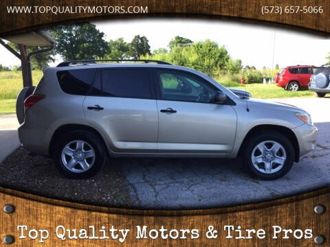 2006 Toyota RAV4 for sale at Top Quality Motors & Tire Pros in Ashland MO