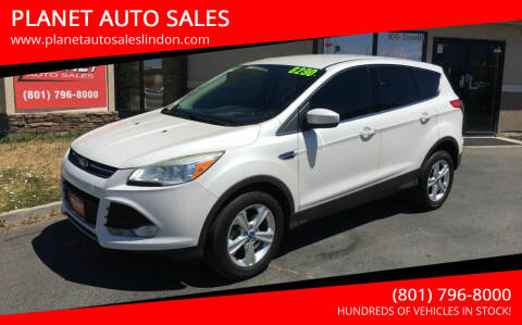 2013 Ford Escape for sale at PLANET AUTO SALES in Lindon UT