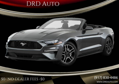 2020 Ford Mustang for sale at DRD Auto in Flushing NY