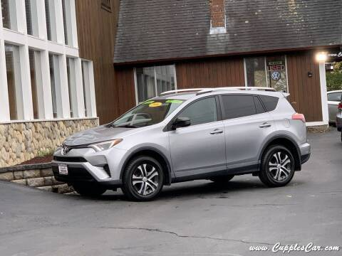2016 Toyota RAV4 for sale at Cupples Car Company in Belmont NH