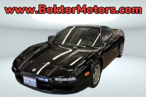 1991 Acura NSX for sale at Boktor Motors in North Hollywood CA