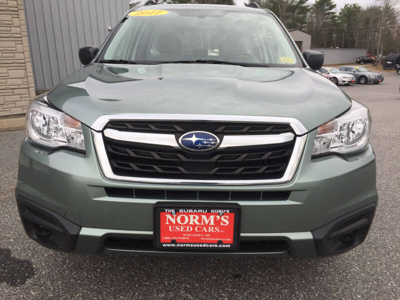 2017 Subaru Forester for sale at Norm's Used Cars INC. in Wiscasset ME