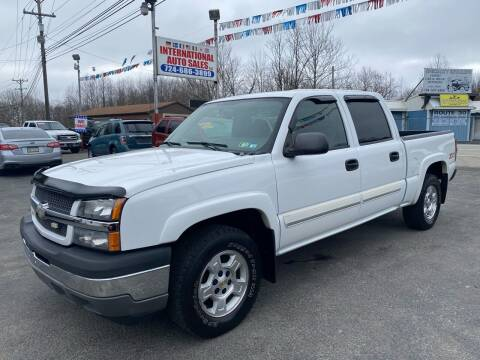 2005 Chevrolet Silverado 1500 for sale at INTERNATIONAL AUTO SALES LLC in Latrobe PA