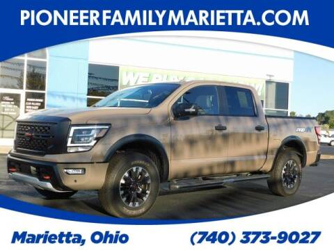 2020 Nissan Titan for sale at Pioneer Family preowned autos in Williamstown WV