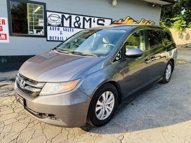 2014 Honda Odyssey for sale at M&M's Auto Sales & Detail in Kansas City KS