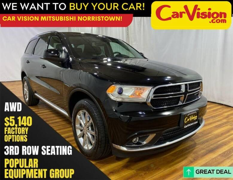 2018 Dodge Durango for sale at Car Vision Mitsubishi Norristown in Norristown PA