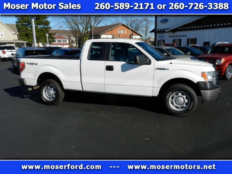 2014 Ford F-150 for sale at Moser Motors Of Portland in Portland IN