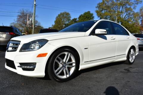 2012 Mercedes-Benz C-Class for sale at Apex Car & Truck Sales in Apex NC