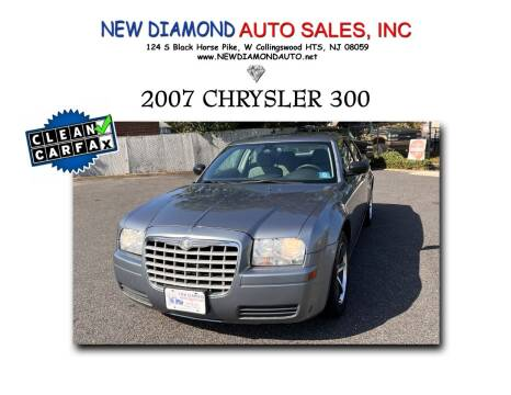 2007 Chrysler 300 for sale at New Diamond Auto Sales, INC in West Collingswood Heights NJ