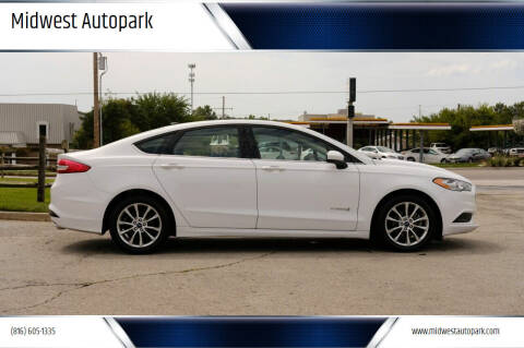 2017 Ford Fusion Hybrid for sale at Midwest Autopark in Kansas City MO