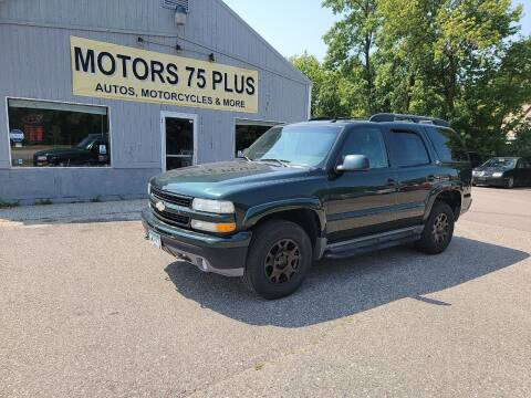 2004 Chevrolet Tahoe for sale at Motors 75 Plus in Saint Cloud MN