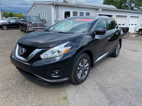 2017 Nissan Murano for sale at AutoMile Motors in Saco ME