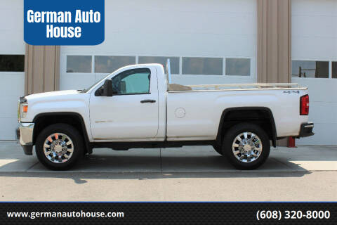 2015 GMC Sierra 2500HD for sale at German Auto House in Fitchburg WI