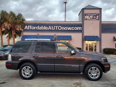2007 Mercury Mountaineer for sale at Affordable Autos in Houma LA