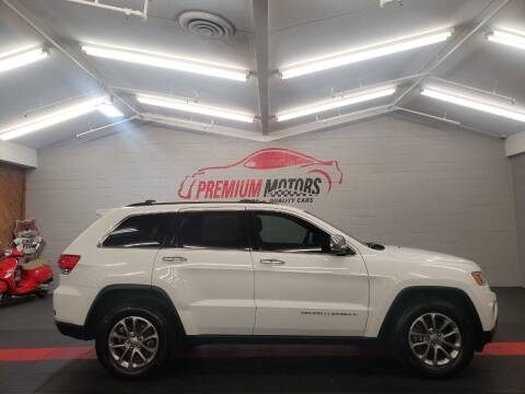 2015 Jeep Grand Cherokee for sale at Premium Motors in Villa Park IL