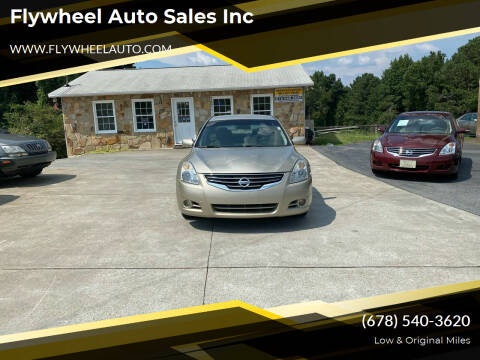 2010 Nissan Altima for sale at Flywheel Auto Sales Inc in Woodstock GA