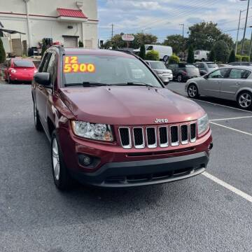 2012 Jeep Compass for sale at Auto Bella Inc. in Clayton NC