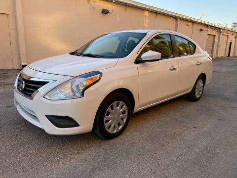 2017 Nissan Versa for sale at T.S. IMPORTS INC in Houston TX