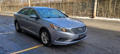 2017 Hyundai Sonata for sale at U.S. Auto Group in Chicago IL