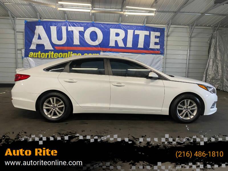 2015 Hyundai Sonata for sale at Auto Rite in Cleveland OH