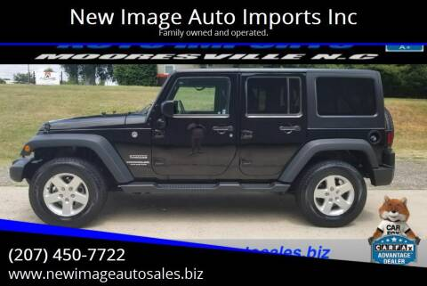 2016 Jeep Wrangler Unlimited for sale at New Image Auto Imports Inc in Mooresville NC