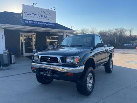 1996 Toyota Tacoma for sale at Maryville Auto Sales in Maryville TN