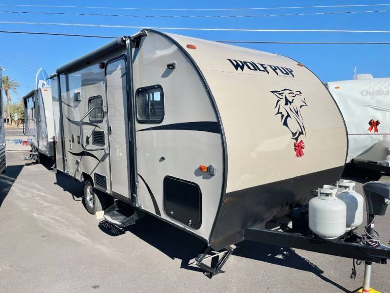 2017 Forest River WOLF PUP for sale at Mesa AZ Auto Sales in Apache Junction AZ