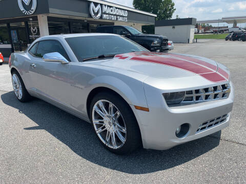 2012 Chevrolet Camaro for sale at MacDonald Motor Sales in High Point NC