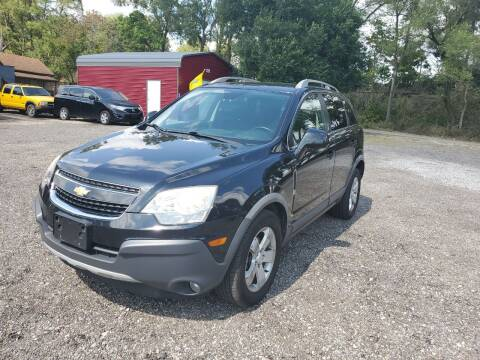 2012 Chevrolet Captiva Sport for sale at Johnsons Car Sales in Richmond IN