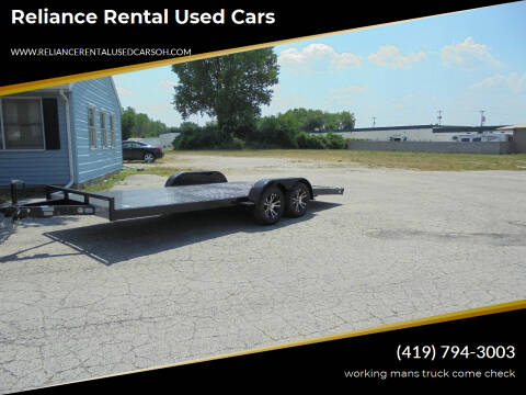 2020 nation 18 foot for sale at Reliance Rental Used Cars in Maumee OH