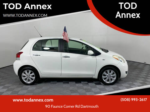 2010 Toyota Yaris for sale at TOD Annex in North Dartmouth MA