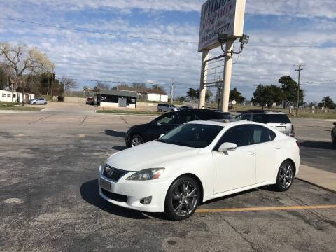 2009 Lexus IS 250 for sale at Patriot Auto Sales in Lawton OK