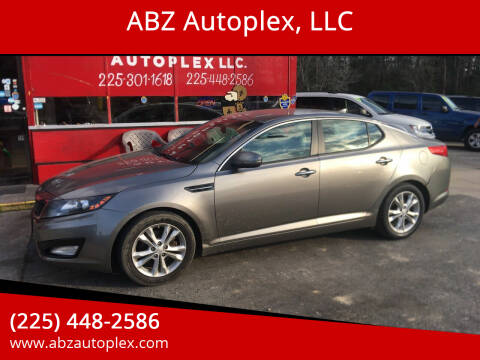 2013 Kia Optima for sale at ABZ Autoplex, LLC in Baton Rouge LA