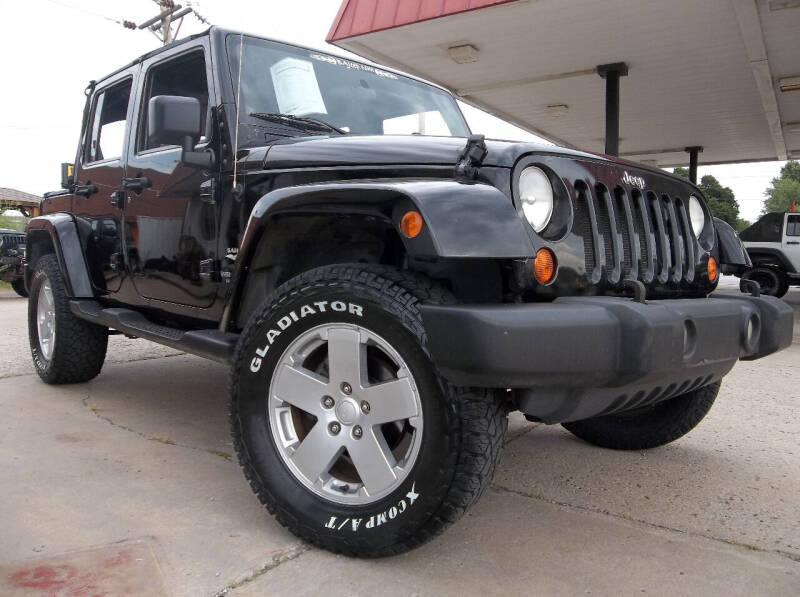 2007 Jeep Wrangler Unlimited for sale at Broken Arrow Motor Co in Broken Arrow OK