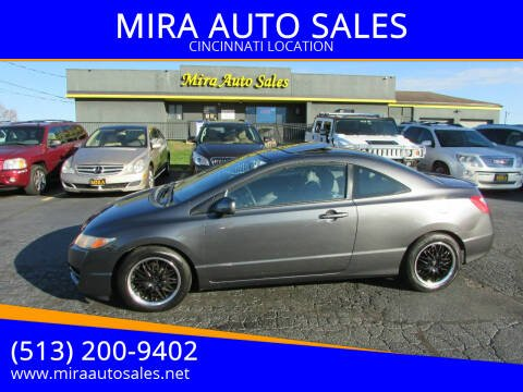 2010 Honda Civic for sale at MIRA AUTO SALES in Cincinnati OH