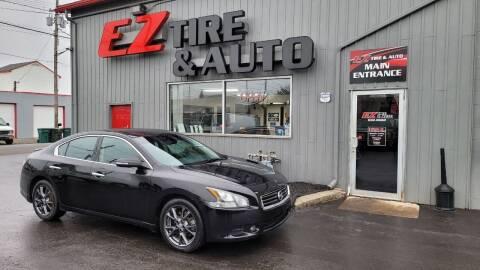 2012 Nissan Maxima for sale at EZ Tire & Auto in North Tonawanda NY