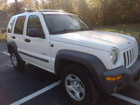 2004 Jeep Liberty for sale at Happy Days Auto Sales in Piedmont SC