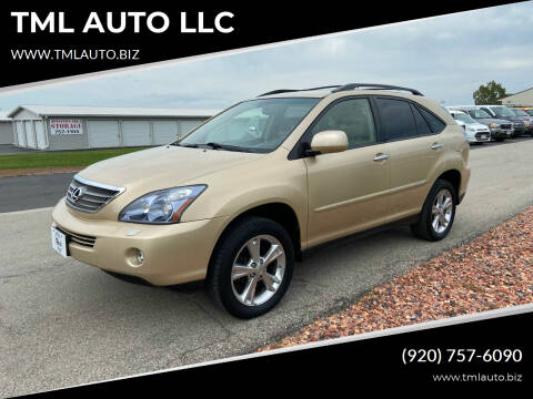 2008 Lexus RX 400h for sale at TML AUTO LLC in Appleton WI