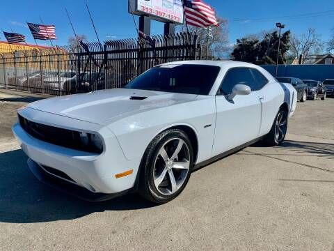 2014 Dodge Challenger for sale at Gus's Used Auto Sales in Detroit MI
