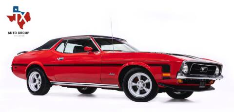 1972 Ford Mustang for sale at TX Auto Group in Houston TX