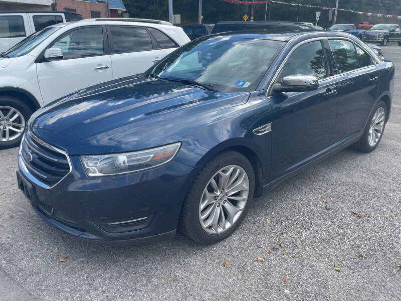 2016 Ford Taurus for sale at Turner's Inc - Main Avenue Lot in Weston WV