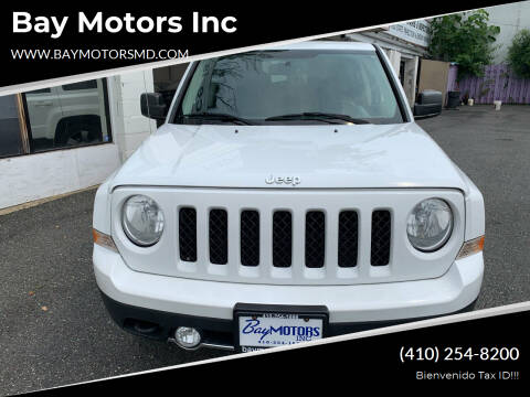 2014 Jeep Patriot for sale at Bay Motors Inc in Baltimore MD