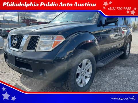 2007 Nissan Pathfinder for sale at Philadelphia Public Auto Auction in Philadelphia PA