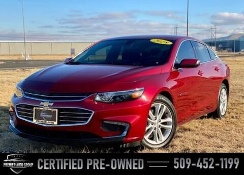 2018 Chevrolet Malibu for sale at Premier Auto Group in Union Gap WA