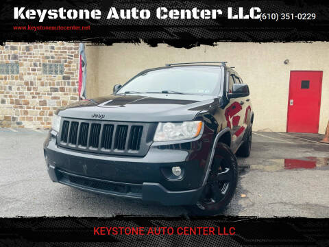 2011 Jeep Grand Cherokee for sale at Keystone Auto Center LLC in Allentown PA