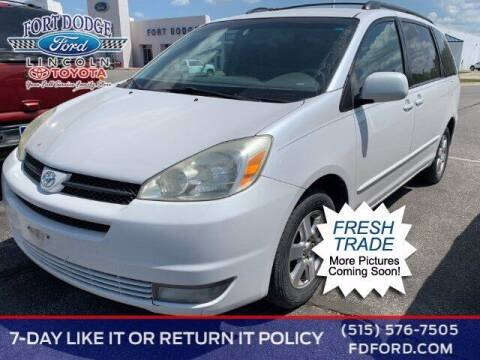 2005 Toyota Sienna for sale at Fort Dodge Ford Lincoln Toyota in Fort Dodge IA