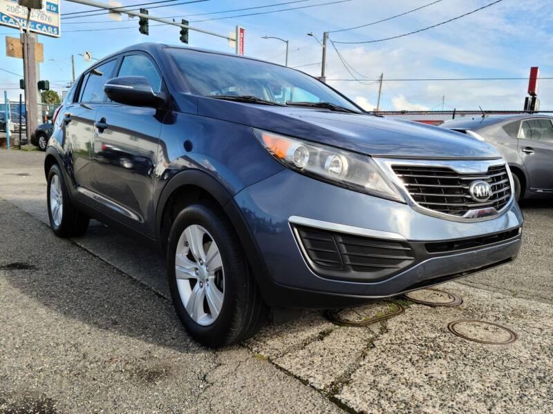 2013 Kia Sportage for sale at Seattle's Auto Deals in Everett WA