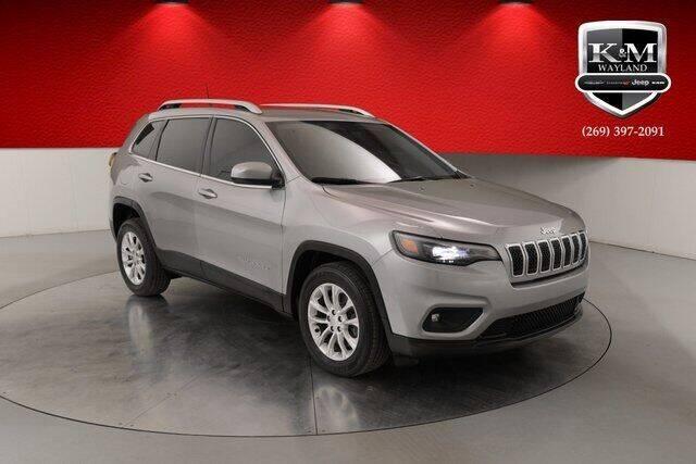 2019 Jeep Cherokee for sale at K&M Wayland Chrysler  Dodge Jeep Ram in Wayland MI