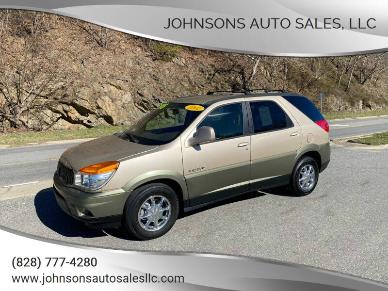 2002 Buick Rendezvous for sale at Johnsons Auto Sales, LLC in Marshall NC